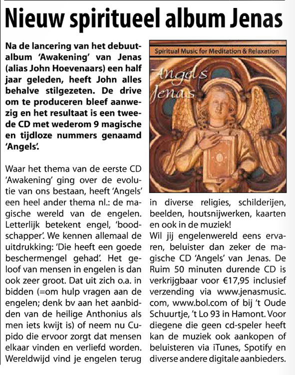 HAC Weekblad Artikel CD Angels