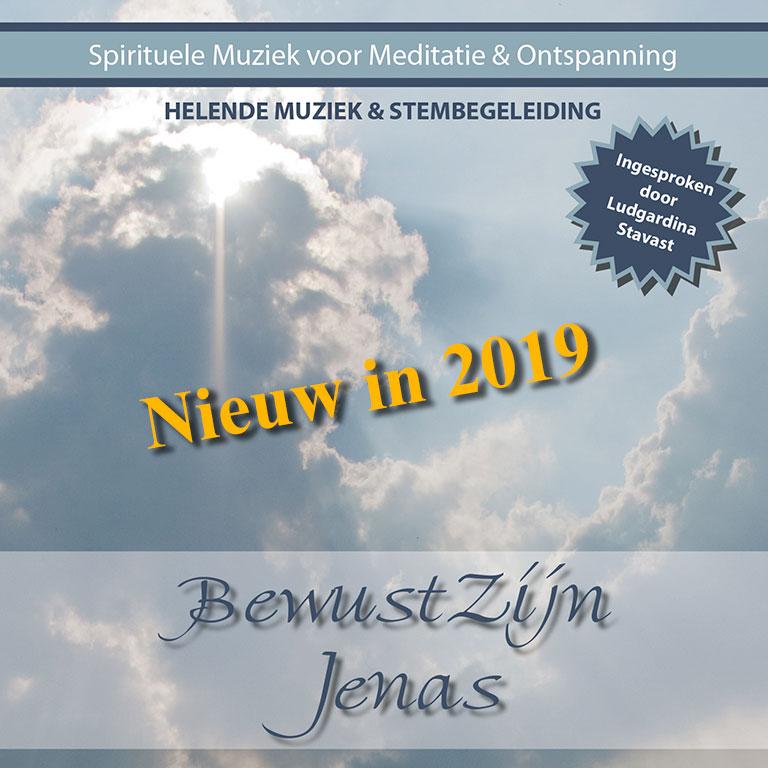 Spirituele muziek CD BewustZijn (met stembegeleiding) - Jenas