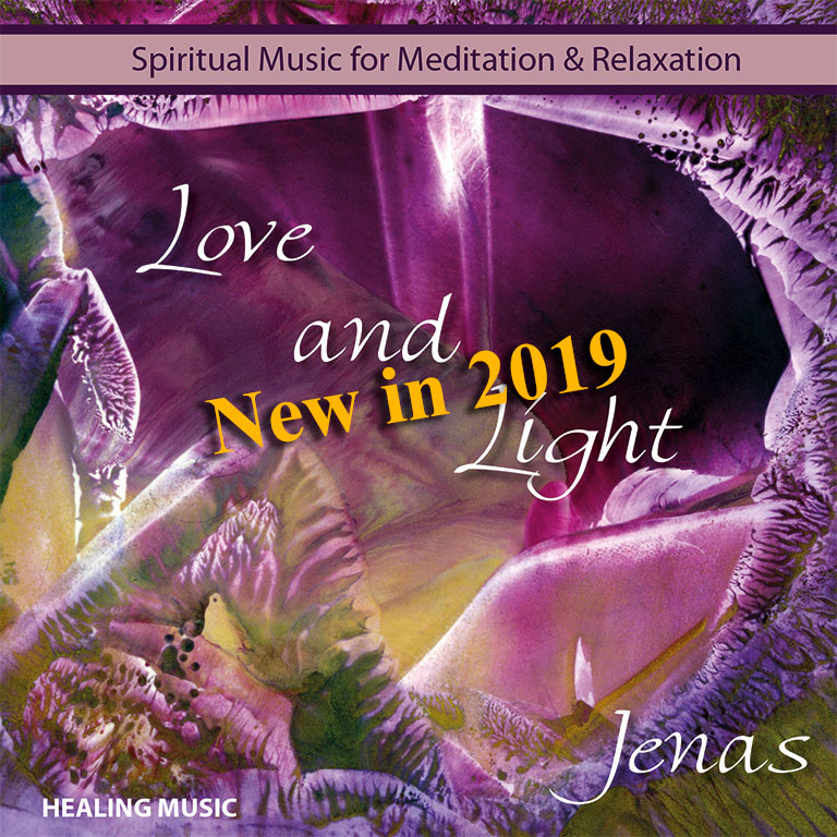 spiritual music CD Love and Light - Jenas