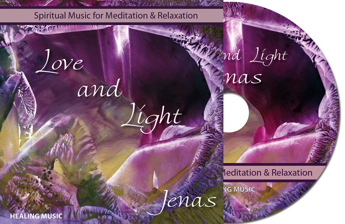spirituele muziek CD Love and Light - Jenas